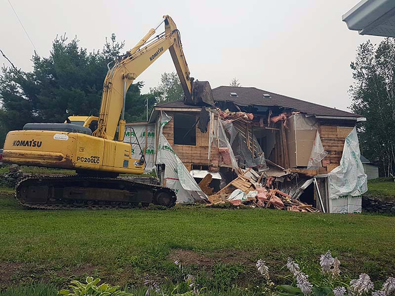 Residential Demolition Project